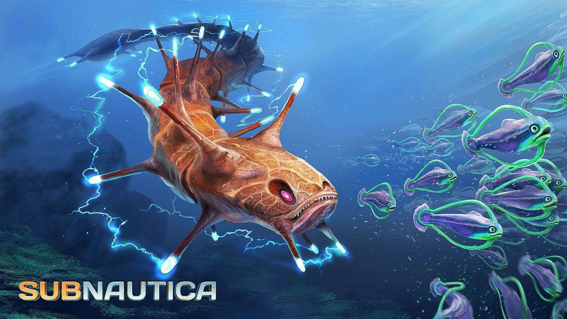 Постер Subnautica