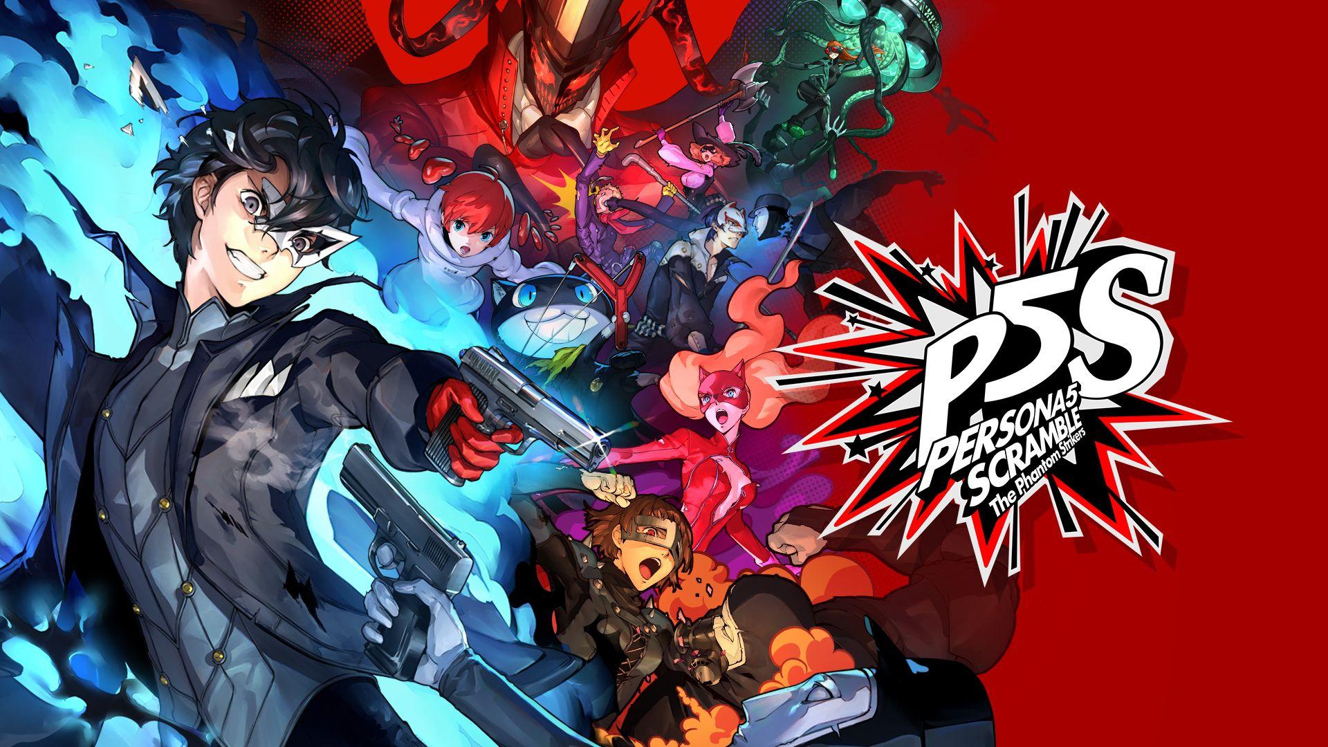 Постер Persona 5 Strikers