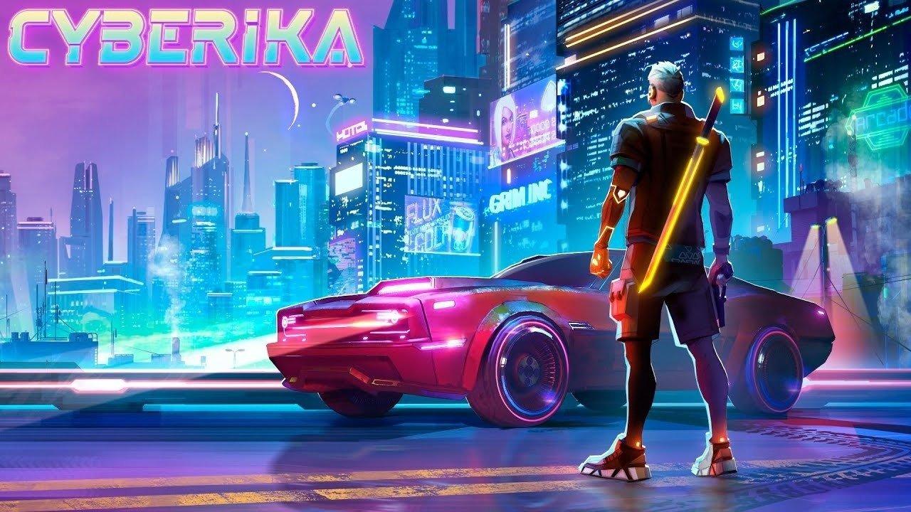 Постер Cyberika: Action Adventure Cyberpunk RPG