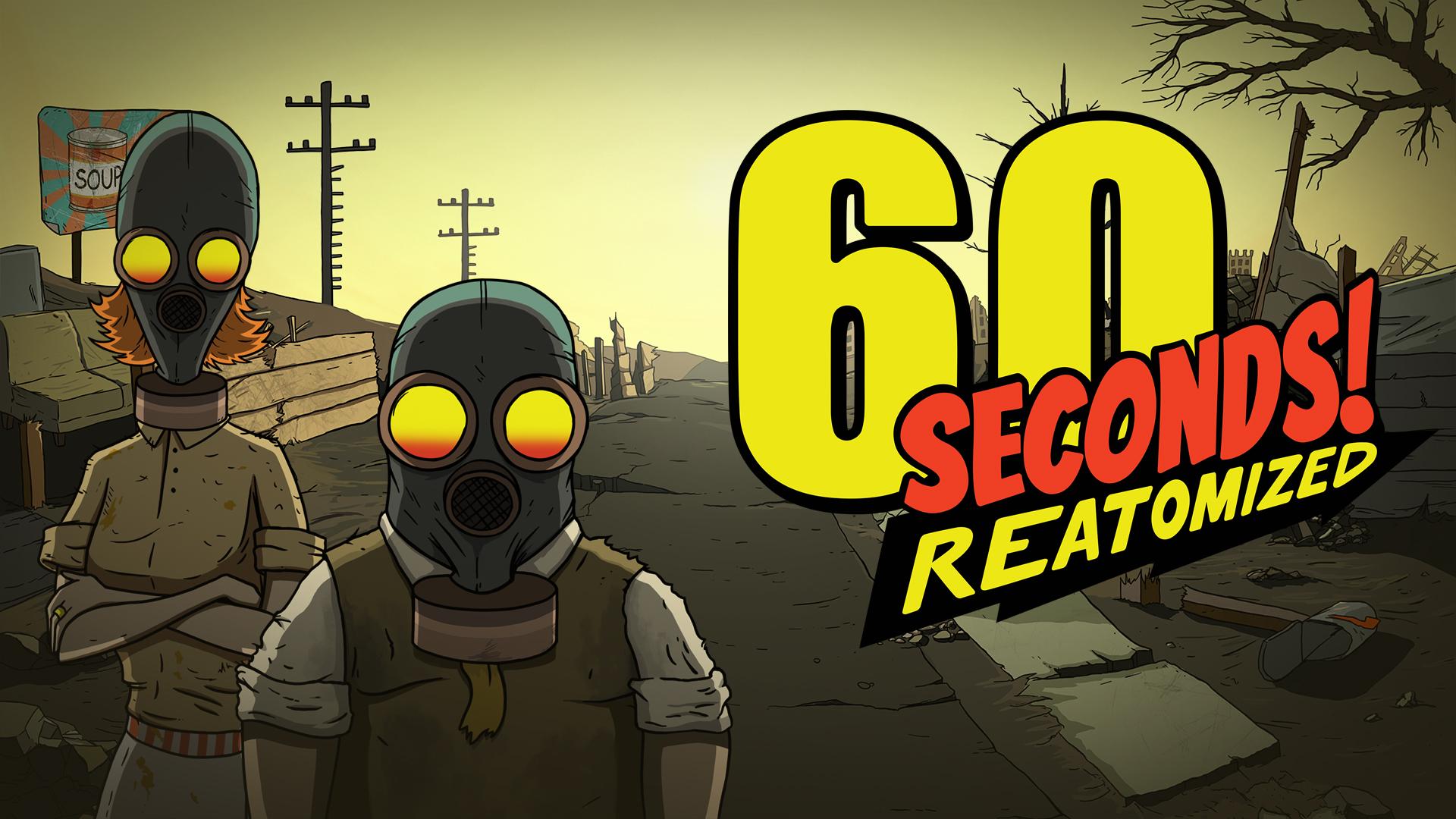 Постер 60 Seconds! Reatomized
