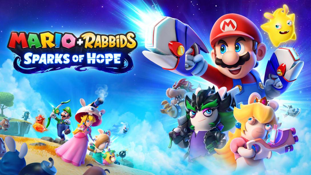 Постер Mario + Rabbids: Sparks of Hope