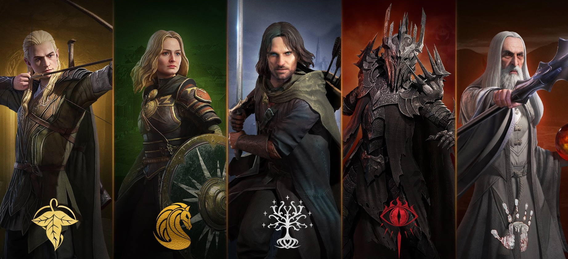 Постер The Lord of the Rings: Rise to War