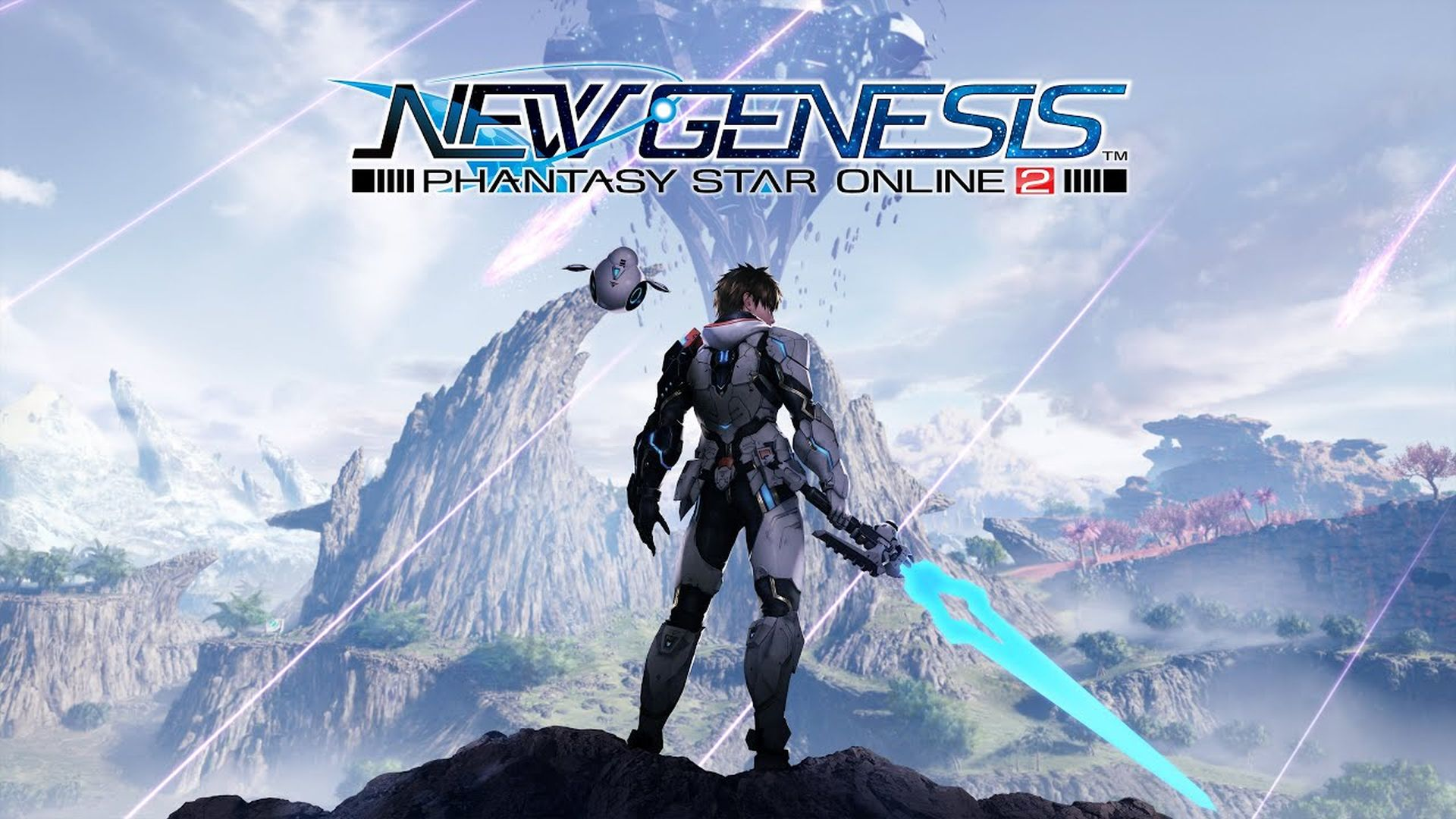 Постер Phantasy Star Online 2