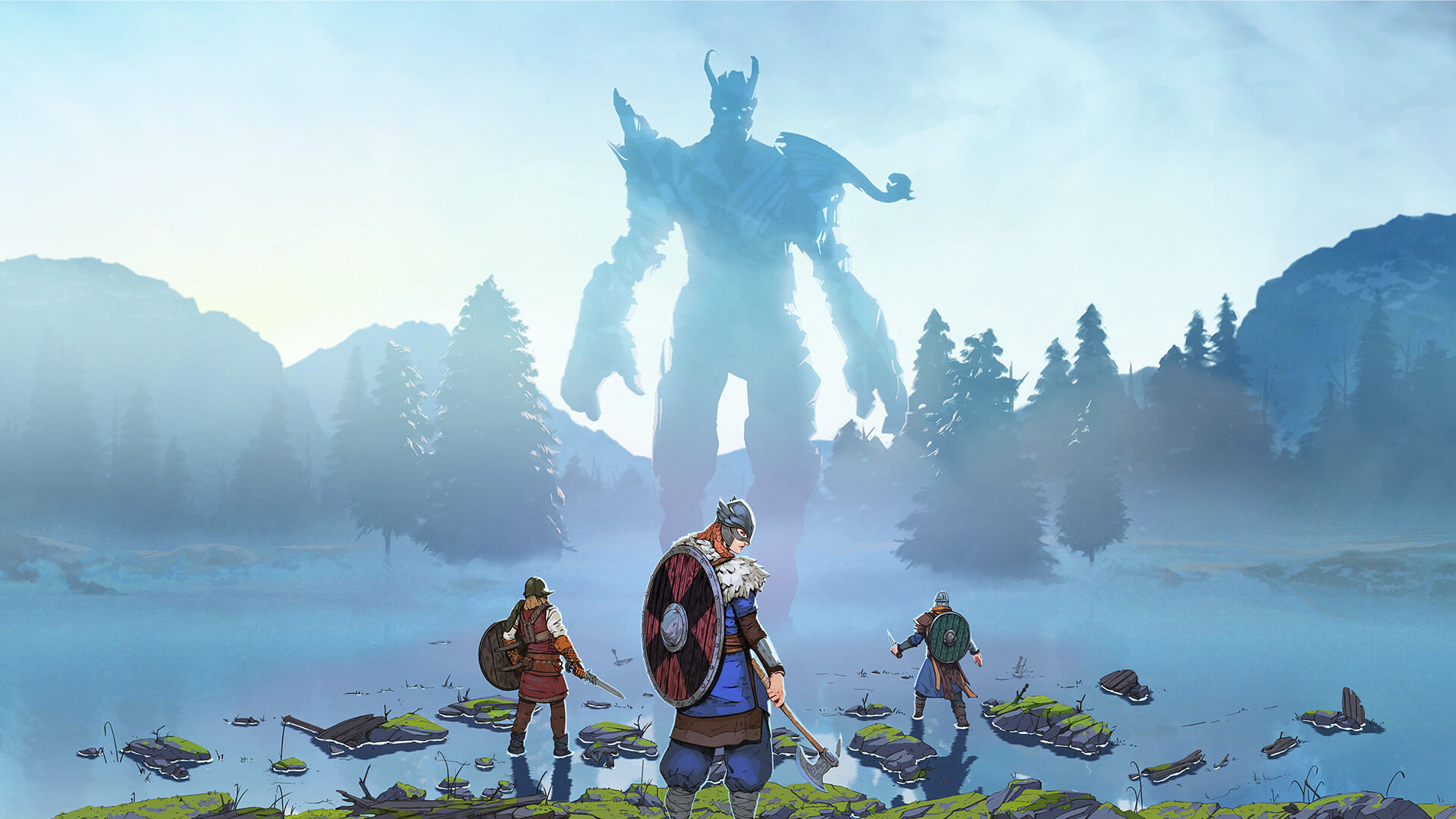 Постер Tribes of Midgard