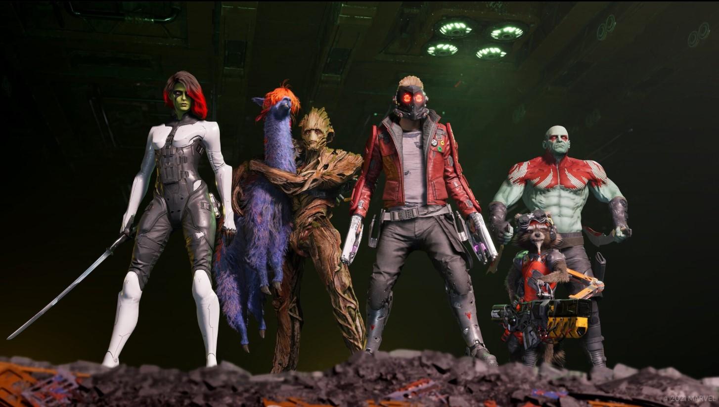 Постер Marvel's Guardians of the Galaxy