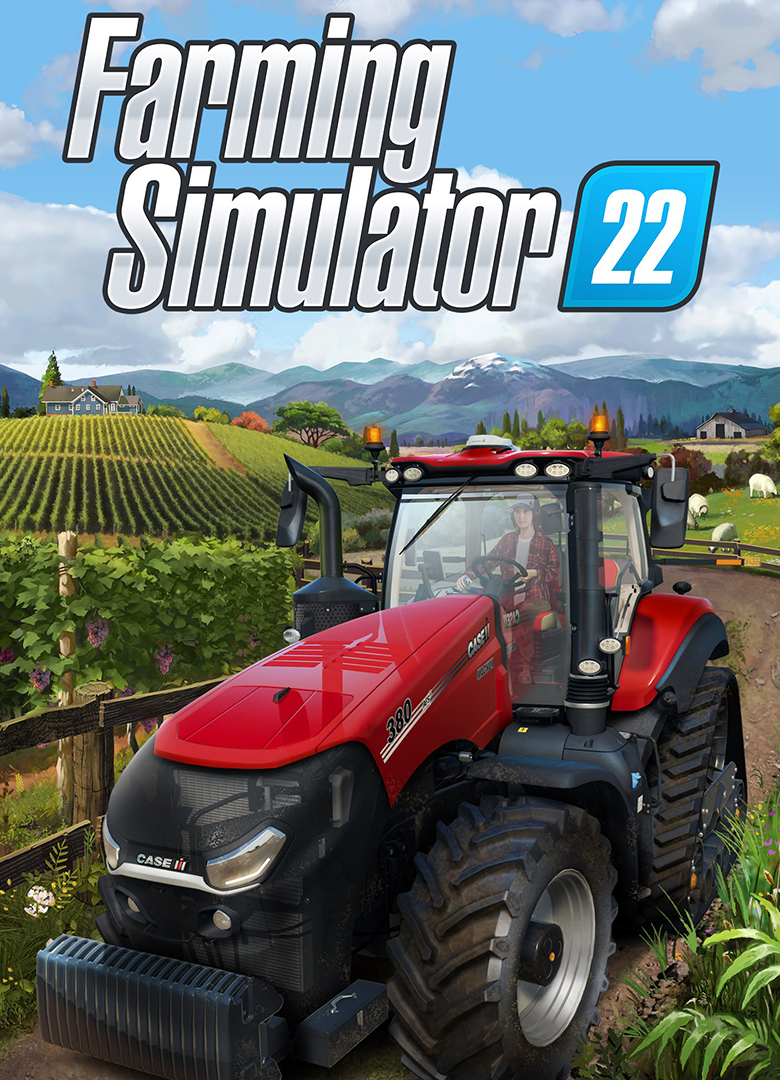 Постер Farming Simulator 22