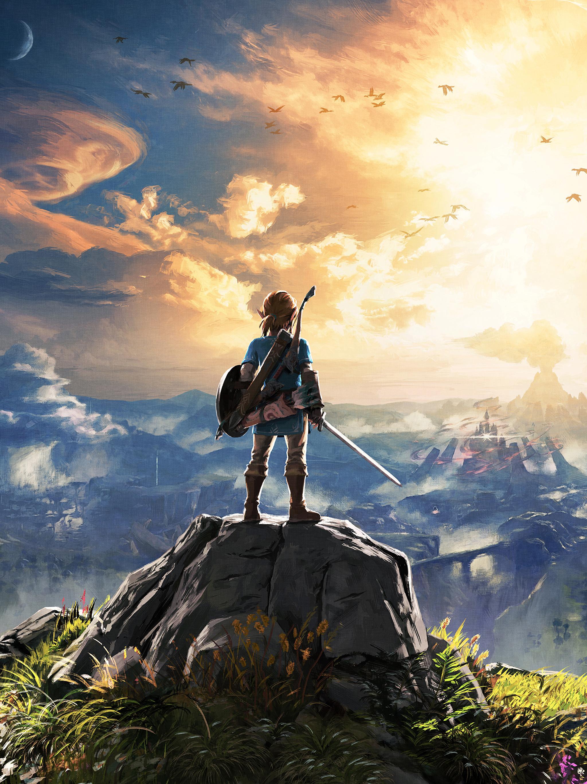 Постер The Legend of Zelda: Breath of the Wild
