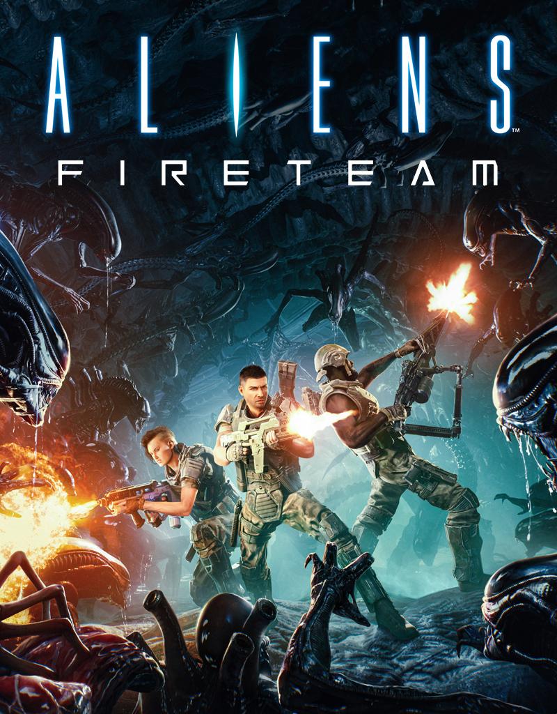 Постер Aliens: Fireteam Elite