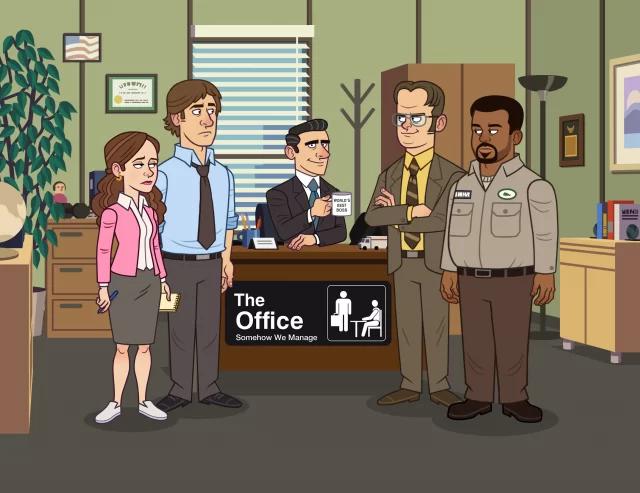 Постер The Office: Somehow We Manage