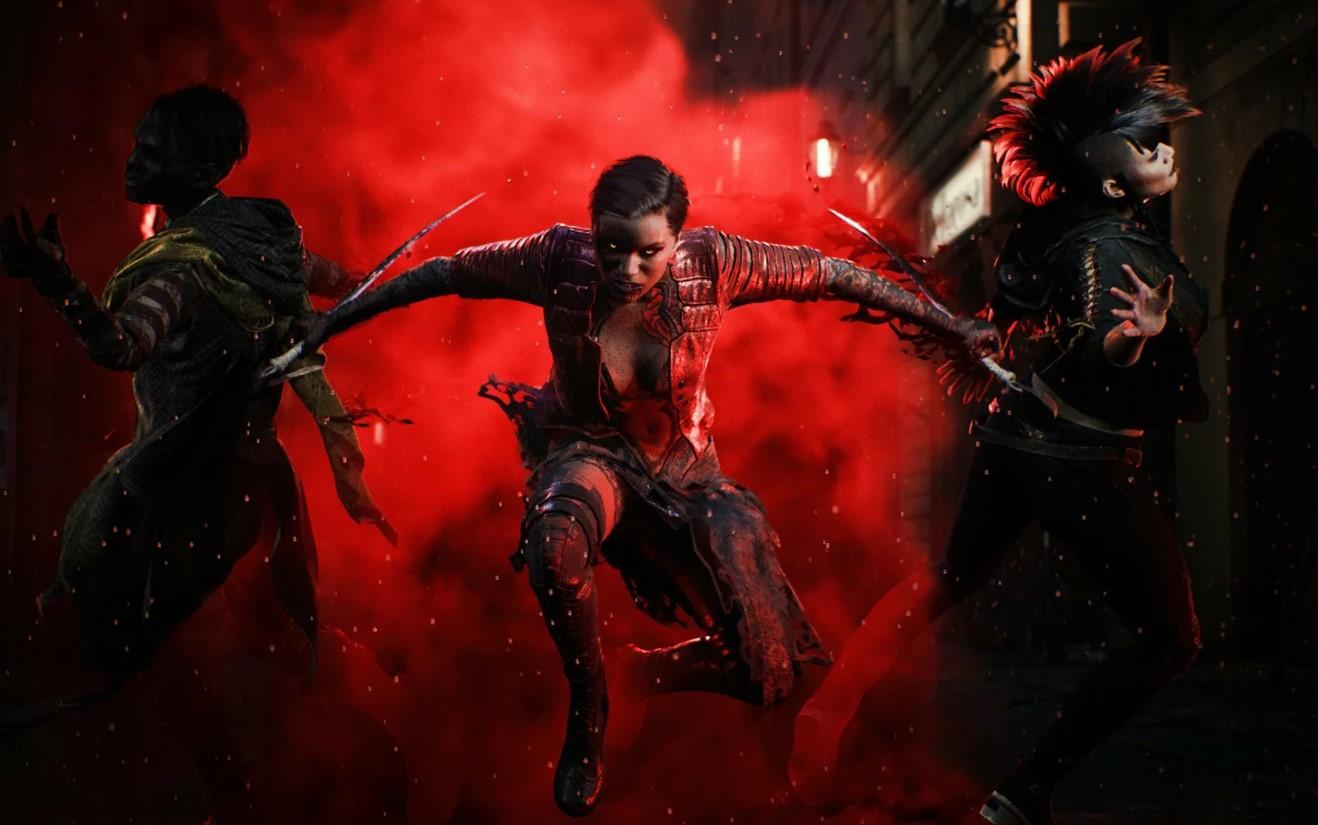 Постер Vampire: The Masquerade – Bloodhunt