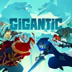 Постер Gigantic