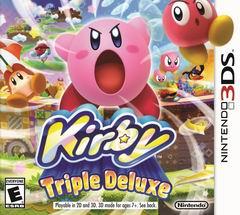 Постер Kirby: Triple Deluxe