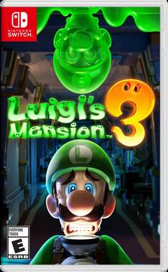 Постер Luigi's Mansion 3