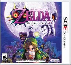 Постер The Legend of Zelda: Majora's Mask 3D