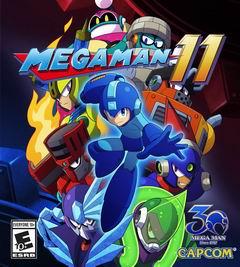 Постер Mega Man 11