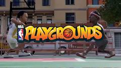 Постер NBA Playgrounds