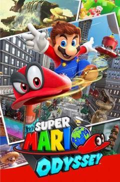 Постер Super Mario Odyssey