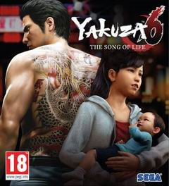 Постер Yakuza 6: The Song of Life