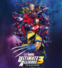 Постер Marvel Ultimate Alliance 3: Black Order