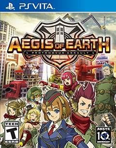 Постер Aegis of Earth: Protonovus Assault