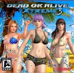 Постер Dead or Alive Xtreme 3