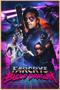 Постер Far Cry 3: Blood Dragon
