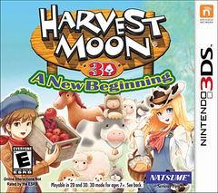 Постер Harvest Moon: A New Beginning