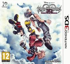 Постер Kingdom Hearts 3D: Dream Drop Distance