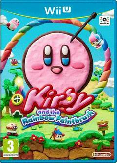 Постер Kirby and the Rainbow Paintbrush