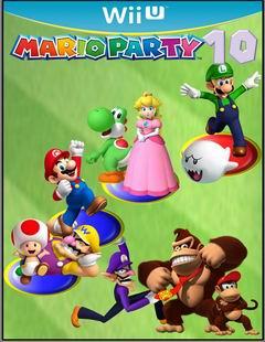 Постер Mario Party 10