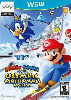 Постер Mario & Sonic at the Sochi 2014 Olympic Winter Games