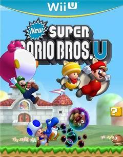 Постер New Super Mario Bros. U