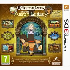 Постер Professor Layton and the Azran Legacies