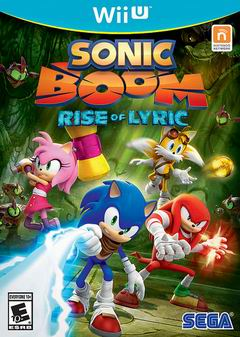 Постер Sonic Boom: Rise of Lyric