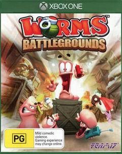 Постер Worms Battlegrounds