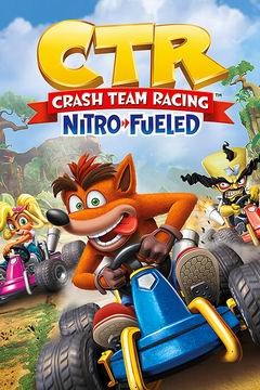 Постер Crash Team Racing Nitro-Fueled