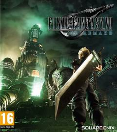 Постер Final Fantasy VII Remake