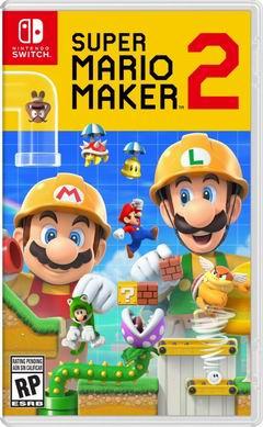 Постер Super Mario Maker 2