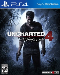 Постер Uncharted 4: A Thief's End