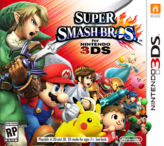 Постер Super Smash Bros. for Nintendo 3DS