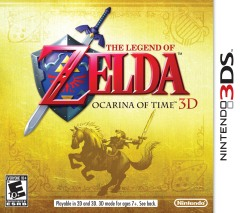Постер The Legend of Zelda: Ocarina of Time 3D
