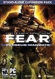 Постер F.E.A.R. Perseus Mandate