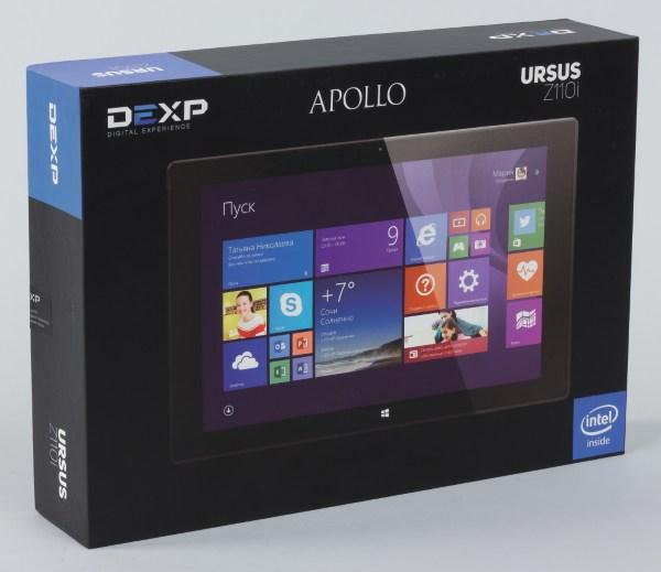 Коробка планшета DEXP Ursus Z110i Apollo