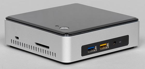 Мини-ПК Intel® NUC 6i3SYK - младший в линейке и очень компактный