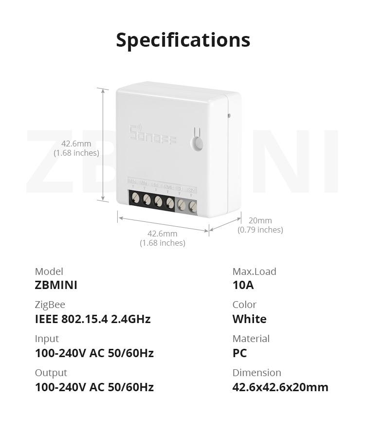 Sonoff Zbmini   U043a U043e U043c U043f U0430 U043a U0442 U043d U043e U0435 Zigbee