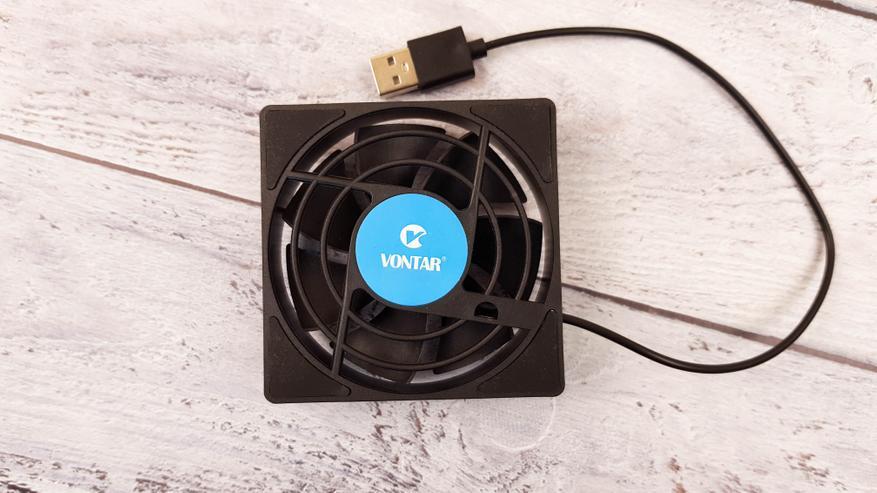 AliExpress: USB-вентилятор Vontar C1 для приставок Android TV: охлаждаем H96 Max X3, Vontar X3 и Mecool M8S Pro L