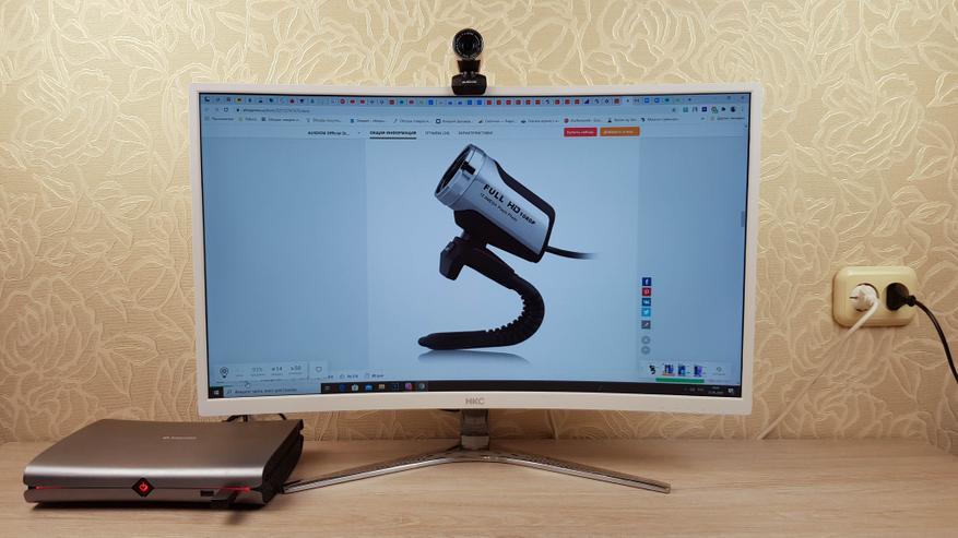 AliExpress: Недорогая веб-камера Ausdom AW615: Full HD, встроенный микрофон, поддержка Windows и Android
