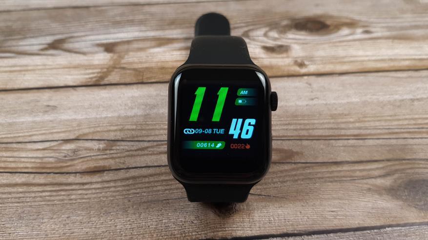 AliExpress: Обзор IWO Air Plus (U78 Plus): смарт-часы с функцией автоматического измерения температурым