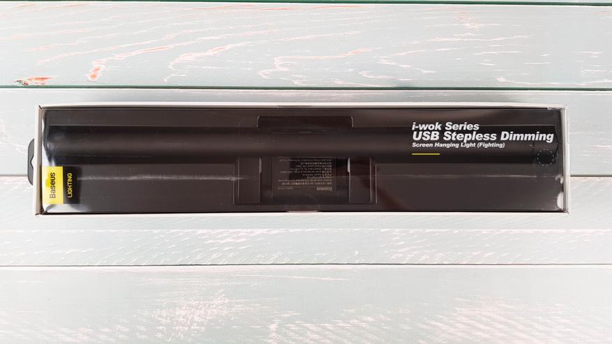 AliExpress: Baseus i-wok: светодиодная лампа-скринбар с креплением на монитор