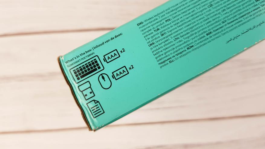 Logitech MK240 Nano обзор: комбо клавиатура + мышь